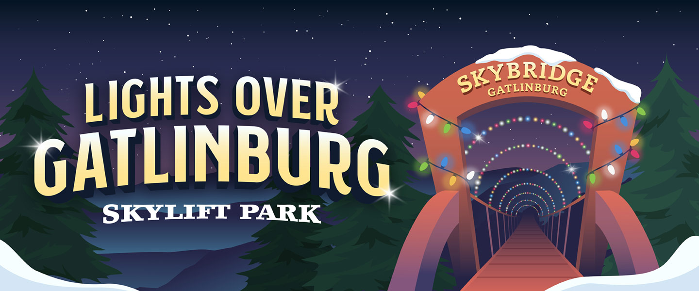 Lights over Gatlinburg Event logo
